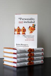 Personality Not Included book (2008)