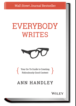 "Book cover to ""Everybody Writes"""